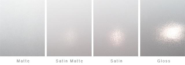 Specification - Satin vs semi gloss ...